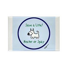 Funny Spay Rectangle Magnet