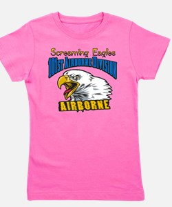 Cute Airborne 101st Girl's Tee