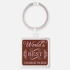 World's Best Charge Nurse Keychains