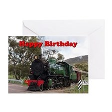 Funny Red black and green Greeting Card