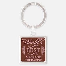 World's Best Massage Therapist Keychains