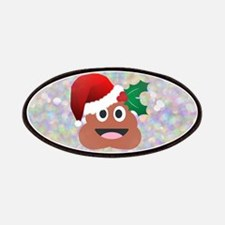 santa christmas poop emoji Patch