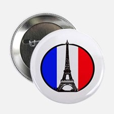 "Paris France 2.25"" Button (10 pack)"