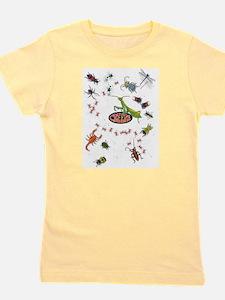 Unique Bugs Girl's Tee