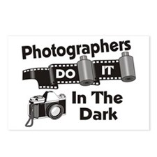 Photogs Do It In The Dark Postcards (Package of 8)
