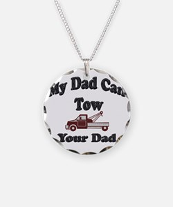 Towing Dad Necklace