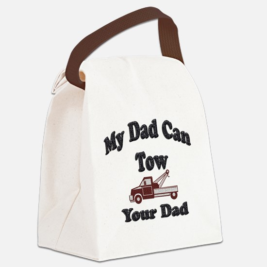 Towing Dad Canvas Lunch Bag