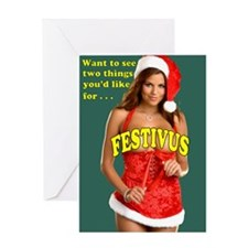 Unique Fun christmas Greeting Card