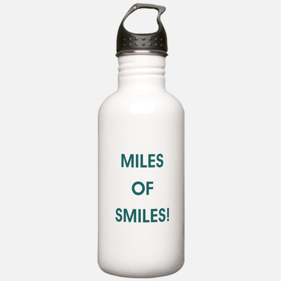 MILES OF SMILES! Water Bottle