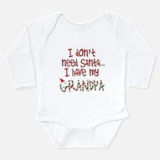 Cute Grampy infant Long Sleeve Infant Bodysuit