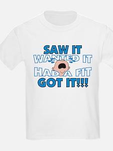 Spoiled Baby Kids T-Shirt