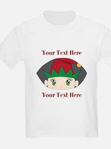 CUSTOM Peeking Elf T-Shirt