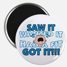 """Spoiled Baby 2.25"""" Magnet (100 pack)"""