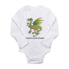 Cute Dragon Long Sleeve Infant Bodysuit
