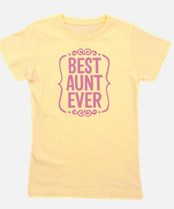 Unique Aunt to be Girl's Tee