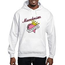 Macedonian Princess Hoodie Sweatshirt