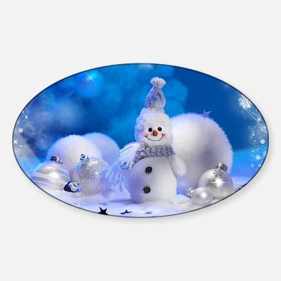 snowman Decal