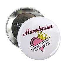 Macedonian Princess Button