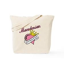 Macedonian Princess Tote Bag
