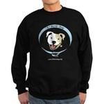 Bmore Dog White URL Sweatshirt
