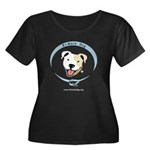 Bmore Dog White URL Plus Size T-Shirt