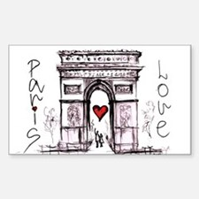 Paris with love Decal