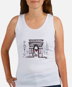 Paris with love Tank Top