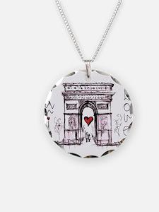 Paris with love Necklace