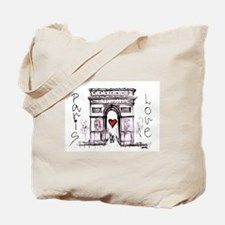 Paris with love Tote Bag