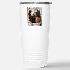 humorous bear Stainless Steel Travel Mug