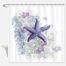 Unique Nautical star Shower Curtain