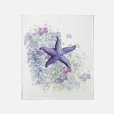 Cute Star fish Throw Blanket