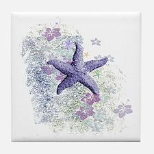 Cute Sea life Tile Coaster