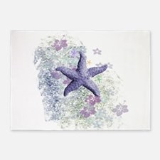 Passion Starfish 5'x7'Area Rug