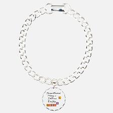 Paraprofessional Charm Bracelet, One Charm
