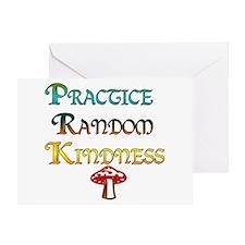 Practice Random Kindness Greeting Card