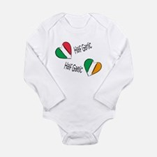 Cool Funny ireland Long Sleeve Infant Bodysuit