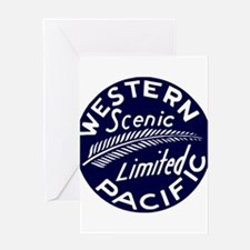 WP Scenic Limited Railway Greeting Cards