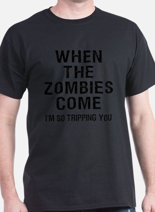 Cute Tripping you zombies T-Shirt