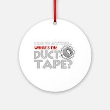 Duct Tape Keepsake (Round)