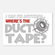 Duct Tape Postcards (Package of 8)
