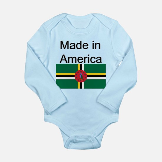 Dominica is in America Body Suit