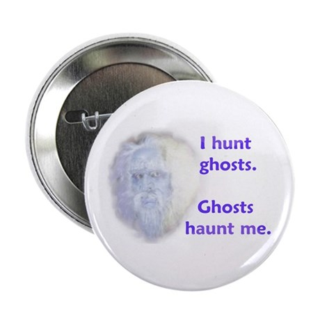 I Hunt Ghost Button