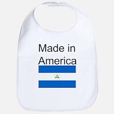 Nicaragua is in America Bib