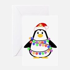 Christmas Penguin Greeting Cards