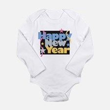 Cool New year 2010 Long Sleeve Infant Bodysuit