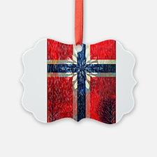 Norwegian winter Ornament