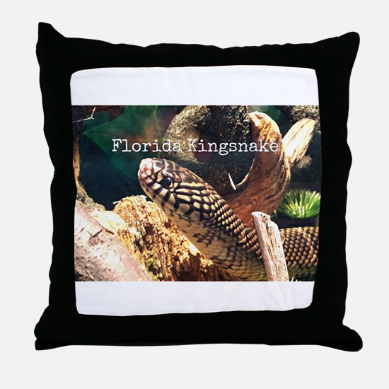 Unique Snake Throw Pillow