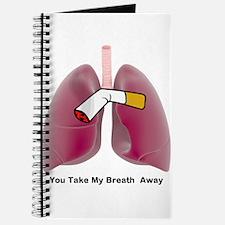 You Take My Breath Away Journal