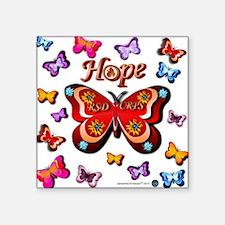 CRPS Lava Bloom Butterfly HOPE Sticker